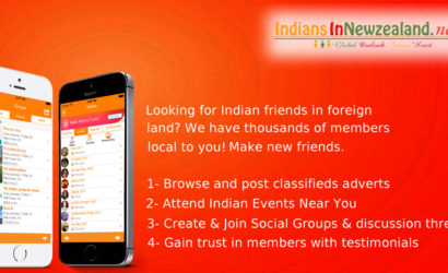 IndiansInNZ – #1 Live Chat Events Free Classifieds