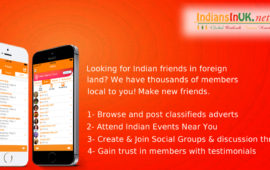 IndiansInUK – #1 Live Chat Events Free Classifieds