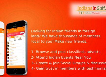 IndiansInGulf – #1 Live Chat Events Free Classifieds