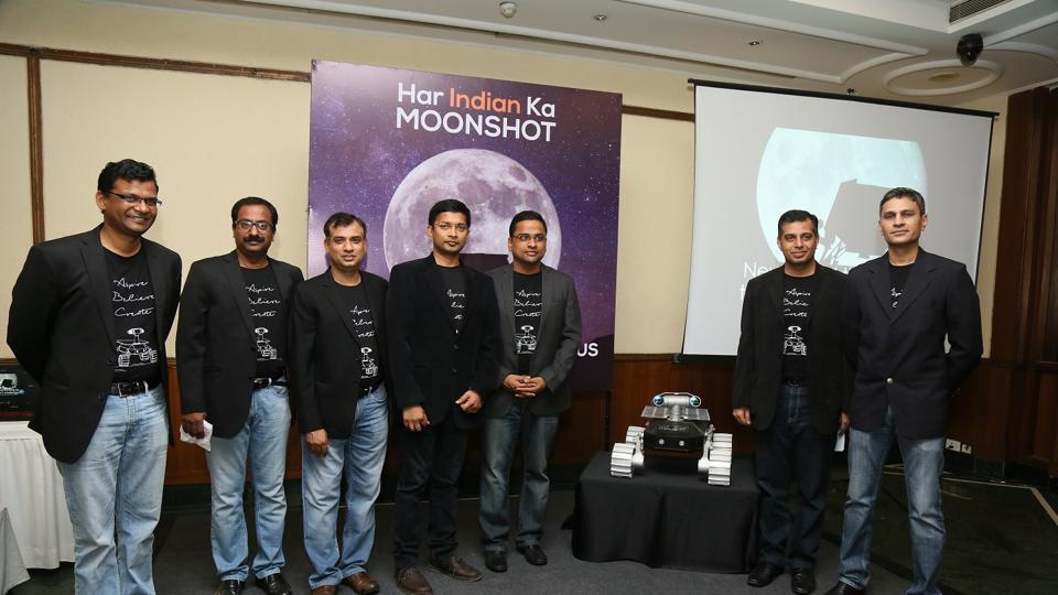 Indians on Google moon mission to blast off anthem on Monday