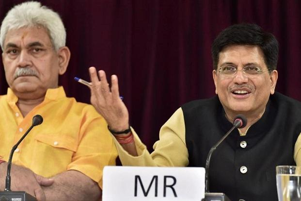 Railways to engage with Isro for rail safety, says Piyush Goyal
