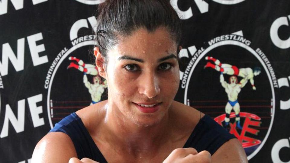 Kavita Devi becomes first Indian woman wrestler to sign for WWE