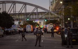 8 killed in terror attack near World Trade Center memorial