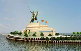 Shivaji memorial in Maharashtra to be world's tallest statue
