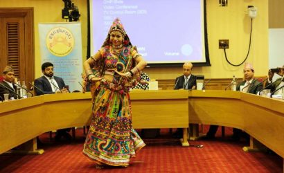 Desi Girl Shine's Dance Performance At UK Parliament On World Cultural Diversity Day